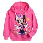 New Kids girl Minnie Mouse Printed hooded longsleeved cotton Top size 4yrs-8yrs
