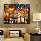 Romantic Night II Stretched Canvas Print Framed Wall Art Decor Abstract Painting