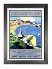 Broadstairs Travel Holiday Beautiful View Poster Thanet Advert East Kent Photo