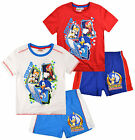 Boys Sonic The Hedgehog T Shirt Top And Shorts Set Kids New Age 3 4 6 8 Years