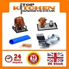 Barbecue Beer Can Chicken Roaster ✰ BBQ Bird Garlic Peeler ✰ Grill Daddy Cleaner