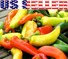 30+ ORGANICALLY GROWN Sweet Banana Hungarian Wax Pepper Seeds Heirloom NON-GMO