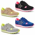 Ladies Sports Jogging Gym Girls Running Lace Up Casual Womens Trainers Sizes UK