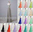 Beaded Appliqued Cap Sleeve Bridesmaid Dresses Plus Size Prom Evening Party Gown