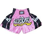 PINK 'CHOK DEE' SHORTS TRUNKS FOR MUAY THAI TRAINING AND FIGHTING