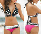 New Sexy Lady Women's Summer Swimwear Bikini Set Push-Up Padded Bra Swimsuit