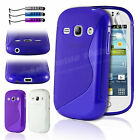 New Gel Silicone TPU Slim Thin Case Cover For Samsung Galaxy Fame S6810 + Guard