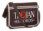 Trojan Records Messenger Shoulder Bag, Rock Steady, Reggae, Ska, Scooter, Life