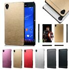 Luxury Metal Aluminum Brushed Slim Hard Case Cover Skin For Sony Xperia Smart