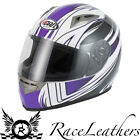 VCAN V158 PURPLE WIND MOTORCYCLE MOTORBIKE BIKE HELMET
