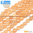 "Coin Gemstone Jewelry Making Loose Beads Strand 15"" Free Shipping"
