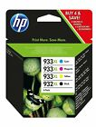GENUINE HP HIGH CAPACITY 932XL & 933XL C/M/Y/K INK CARTRIDGE MULTI PACK C2P42AE