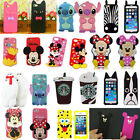 K2 3D Cartoon Silicone Back Case Cover Super Hero for iPhone & Samsung Galaxy