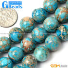 Blue Crzay Lace Agate Round Beads For Jewelry Making Free Shipping Strand 15""