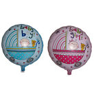 "18""  Baby Boy & Girl Round Pram Foil  Balloon Baby Shower Christening Birthday"