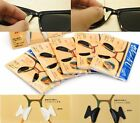 Eyeglass Sunglass Glasses Spectacles Anti Slip Silicone Stick On Nose Pad Gift