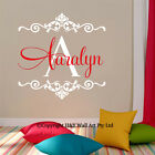 Custom Personalised Name Wall Art Stickers Kids Art Nursery Vinyl Decals Decor