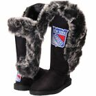Cuce Shoes New York Rangers Women's Black Victorious Boots