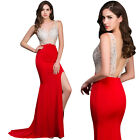 Sexy Mermaid Formal Mesquerade Prom Ball Gown Cocktail Long Party Evening Dress