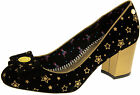 Womens BABYCHAM Chunky Heels Ladies Vintage Party Court Shoes Sz Size 3 4 5 6 7
