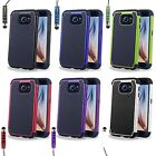 SHOCKPROOF CASE COVER FOR SAMSUNG GALAXY S6 FREE SCREEN PROTECTOR