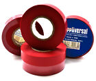 RED ELECTRICAL PVC INSULATION / INSULATING  TAPE 19mm x 33m FLAME RETARDANT