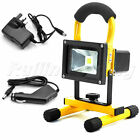 10W 20W 30W Portable Outdoor White LED Work Light Rechargeable Floodlight IP65