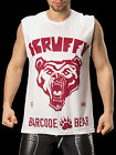 Barcode Berlin 91085 Tank Top Scruffy  white-red