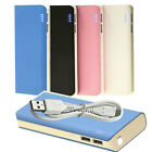 2-USB External Portable Battery Charger Power Bank 13000mAh for Smartphone cell
