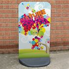 Ecoflex Pavement Sign A-Board Proflex Kerb Advertising Display Stand