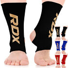 RDX Ankle Support Brace Anklet Foot Pads MMA Guard Gym Sock Protector Shin BR