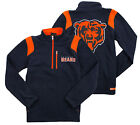 NFL Toddlers / Kids / Youth Chicago Bears 1/4 Zip Micro Fleece Jacket - Navy