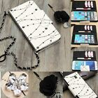 Luxury Bling Crystal Flip Leather Wallet Card Cover Case For iPhone 6/6 Plus/S6