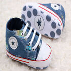 Toddler Baby girl  boy cowboy  Sports shoes crib shoes size 0-6 6-12 12-18Months