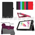 Folio PU Leather Case Stand Cover For LG G Pad F 8.0 V495 / V496 T-Mobile 4G LTE