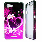 Premium Silicone Smooth Soft Rubber Phone Case Cover For Sony Xperia Mobile