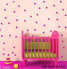 168 Triangles removable wall art stickers for Nursery or kids room Vinyl decal