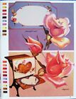 Roses Lace & Dewdrops Painting Pattern Book Joan Johnson Flowers - Unused