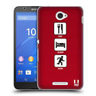 HEAD CASE DESIGNS EXTREME SPORTS COLLECTION 2 HARD BACK CASE FOR SONY XPERIA E4