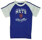 MLB Little Kids / Youth New York Mets Short Sleeve Diamond Tee T-Shirt, Blue