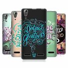HEAD CASE DESIGNS INSPIRATIONAL TYPOGRAPHY HARD BACK CASE FOR LENOVO A6000