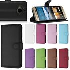 Vintage Luxury Leather Flip Wallet Smart Case Cover Stand For HTC One M9 Plus