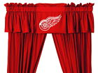 Detroit Red Wings Curtains & Valance Set