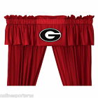 Georgia Bulldogs Curtains & Valance Set