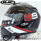 HJC IS-17 LORENZO 99 BLACK FULL FACE MOTORCYCLE MOTORBIKE BIKE HELMET