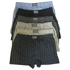 12 x Mens Cotton Blend Button Fly Jersey Boxer Shorts Underwear Big King Plus