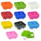 Silicon Ice Ball Mould-Makes 4 x 4.5cm Balls-Perfect Slow Melting Ice Balls