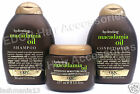 Organix Hydrating Macadamia Oil Shampoo, Conditioner And Intensive Moisture Mask