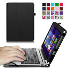 Leather Keyboard Portfolio Case Cover For Acer Aspire Switch 10 SW5 10.1-Inch