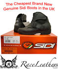 NEW GENUINE SIDI STIVALI ESCAPE MOTORCYCLE MOTORBIKE SCOOTER LADIES BOOTS CHEAP